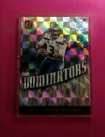 Russell Wilson Seattle Seahawks 2019 Donruss DOMINATORS*Encased*#33*Awesome