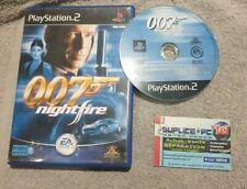 JAMES BOND 007 NIGHTFIRE (SANS NOTICE) - PS2 - JEU FR