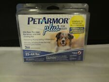 PetArmor Plus for Dogs 23-44 lbs - Flea and Tick Squeeze-On, 3 count