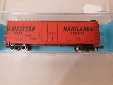 Atlas # 33051 40' Plug Door Boxcar  Western Maryland # 5 N MIB