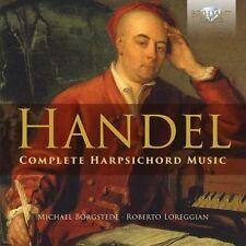 HANDEL: COMPLETE HARPSICHORD MUSIC NEW CD