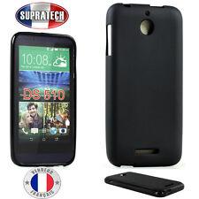 Coque Housse Silicone Noir Souple pour HTC Desire 510