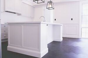 Hamptons-Inspired Style Kitchen Cabinets/Shaker Door Workshop Directly Made
