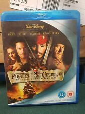 Pirates Of The Caribbean - The Curse Of The Black Pearl (Blu-ray, 2007)