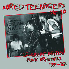 Bored Teenagers Vol. 10 LP UK PUNK COMPILATION Bin Liner Records 2017