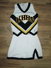 "REAL High School Cheerleader Uniform Outfit Costume 36"" Top 28 Waist KHHS Adult"