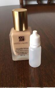 🦋Estee Lauder Double Wear Stay In Place Makeup 10ml Bone 1W1.