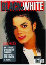 MICHAEL JACKSON BLACK & WHITE MAGAZINE N. 1 FRENCH POSTERMAG VERY RARE NO PROMO