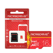 16GB Micro Memory Card Class U3 HD High Speed With SD TF Card Adapter For Camera