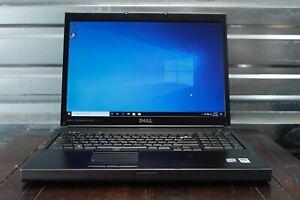 Dell Precision M6400 Core 2 Duo 2.00GHz 4GB RAM 500GB HDD Windows 10