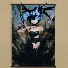 Anime BLACK ROCK SHOOTER Home Decor Wall Scroll Decorate Poster 50X70cm DD666