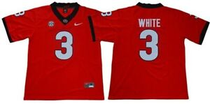 Zamir White Georgia Bulldogs Football Stitched Jersey NWT (L)