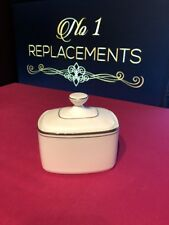 Royal Doulton Platinum Concord Lidded / Covered Sugar Bowl 2 Available