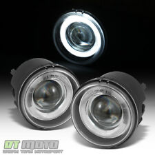 2005-2009 Dodge Charger Caravan Caliber Nitro LED Halo Projector Fog Lights Pair