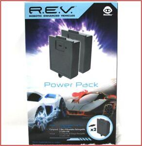 2 BATTERY Packs - REV R.E.V. ROBOTIC ENHANCED Vehicles POWER PACK Kit + Charger