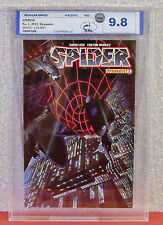 SPIDER, Vol. 1 #1, Graded 9.8  By MCG (MW Comic Grading) 2012, Dynamite