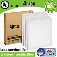 USA 4PACK 30W 2x2ft LED Panel Light 5000K Troffer Recessed Ceiling Light Office