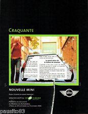 PUBLICITE ADVERTISING 016  2000  Austin  la Mini
