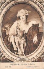 GREUZE J.B  - la laitière -  Musée du LOUVRE  - Paris -