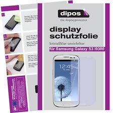 1x Samsung Galaxy S3 i9300 Protector de Pantalla protectores transparente
