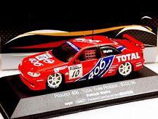 PEUGEOT 406 TOTAL TEAM PEUGEOT #10 BTCC 1996 WATTS ONYX XT033 1/43