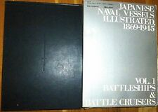 Japanese Naval Vessels Illustrated 1869-1945 Vol.1 Battleships Cruisers book å √