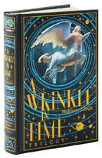 A Wrinkle In Time by Madeleine L'Engle Leather Bound Edition Set 1 2 3 Omnibus