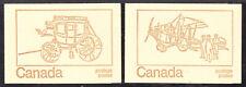 CANADA BOOKLET #BK69c 1 PANE/6, 1971 SET/2 DESIGNS, COMPLETE