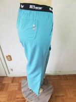 NWT Scrub Pants Greys Anatomy Legend Teal Polyester 4XL 3 Pocket LOGO Waist