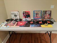 Vintage vinyl records lot