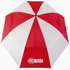 Brand New: Pro-Tekt Golf Dual Canopy Umbrella (Red / White) - FREE UK P&P
