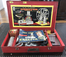 AC Gilbert Metal Erector Set No. 8-1/2 All-Electric *FERRIS WHEEL* Not Complete