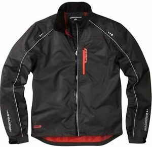 Madison Protec Mens Waterproof Cycling Jacket. Black.  Stock Clearance. RRP £50