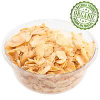 Organic Spice Dehydrated Garlic Flakes Dry Slice Dried Garlic Kosher Pure Israel