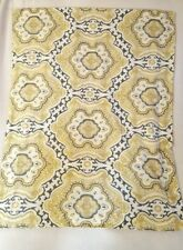 Pillow Sham Yellow Gold Green Moroccan Design Cotton Standard 1pc
