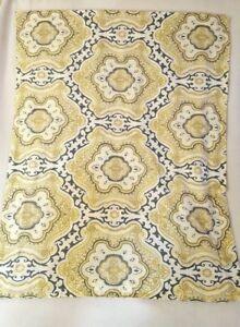 Pillow Sham Yellow Gold Green Moroccan Design Cotton Standard 1pc