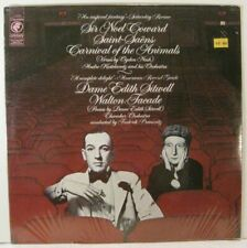 Saint-Saens Carnival of the Animals, Walton Facade, Noel Coward Edith Sitwell LP