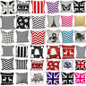 """Stylish Decorative 100% Cotton Cushion Cover Reversible Cover 18x18"""""""