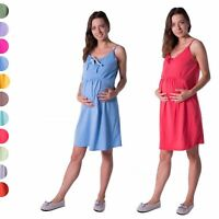 Maternity Women's Pregnancy Nursing Breastfeeding Nightdress Nightie
