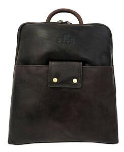 40% Off Women's Rowallan Brown Leather Backpack