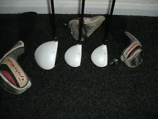 taylormade r11 woods driver, 3 and 5. Regular