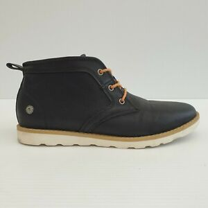 Basement HQ Tanner Mens Chukka Black Boot Size 40 SE143