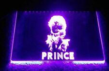 Prince Sihouette Purple Neon Wall Light - USA Pop Memorabilia Great Gift Idea