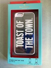 Kate Spade 7465 Toast Of the Town iPhone 6 Fitted Cell Phone Case O/S