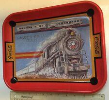 Coca Cola Limited Edition Memphis Special Train Collectible Metal Coke Tray