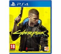 Cyberpunk 2077 Playstation 4 PS4 NEW PreOrder 19/11/2020 NEW FACTORY SEALED