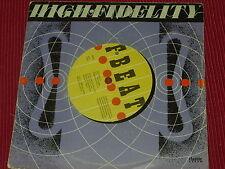 "Elvis Costello: High Fidelity  7""  EX+  (Purple sleeve)"