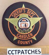 CANDLER COUNTY, GEORGIA SHERIFF POLICE SHOULDER PATCH GA