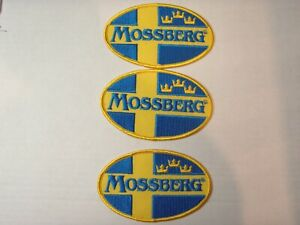 MOSSBERG FIirearms 3 Vintage Cloth Patches New