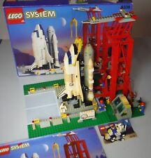 SET LEGO 6339 PIATTAFORMA DI LANCIO SHUTTLE - COMPLETO 100% - OMAGGIO LEM 6516